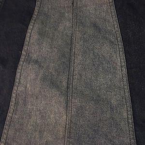 Free People Skirts - Free People mini jean skirt. Elastic waist Sz 0